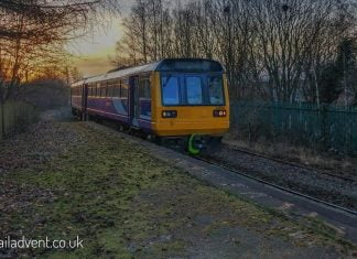 Northern 142049 at Burnley Central