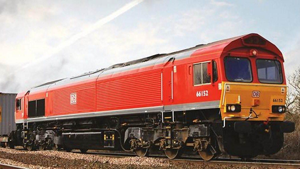 DB rail freight train