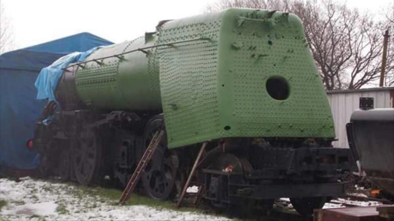 "35011 ""General Steam Navigation"" in the Snow Credit Steve Jeffery"