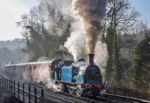419 at the Churnet Valley Railway