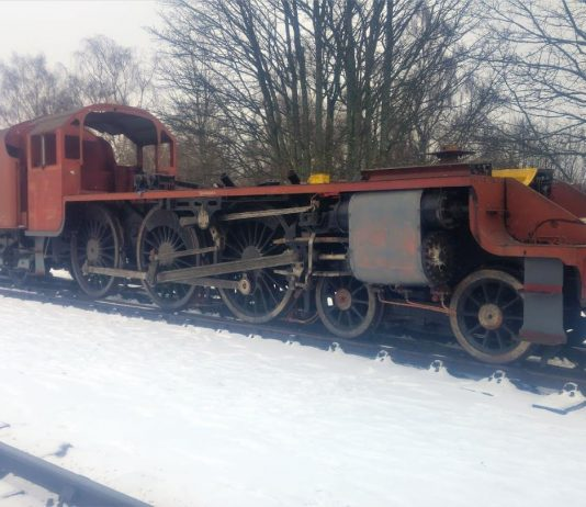 Engine and Tender Reunited // Credit The Watkinson Trust