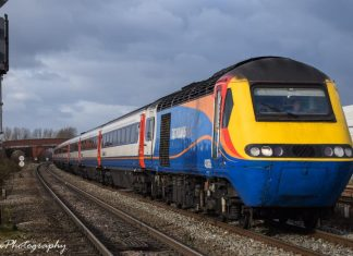 East Midlands Trains HST