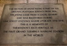 Liverpool station slabs
