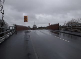 Northamptonshire road bridge