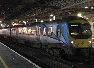 Transpennine 185149 at Preston