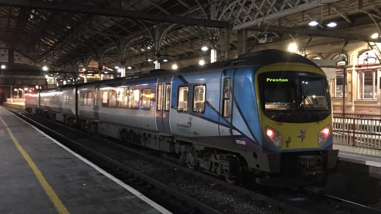 Transpennine 185149 at Preston