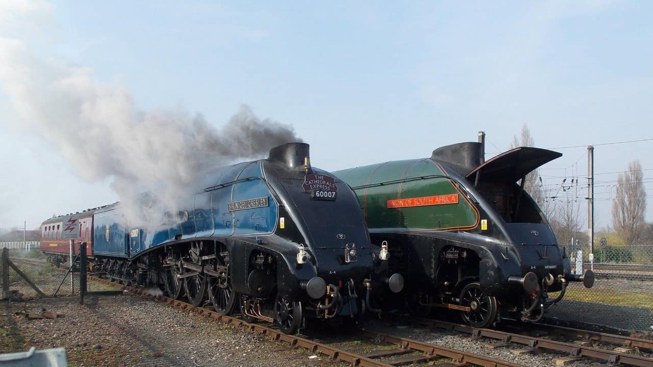 60007 Sir Nigel Gresley and 60009 Union of South Africa