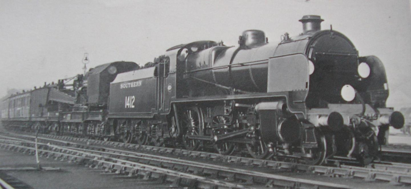 Official Photo of 1412 Hauling a Breakdown Train // Credit UK Government