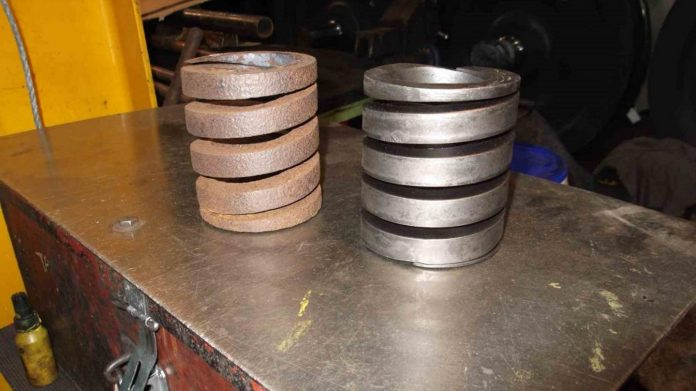 Safety Valve Springs // Credit The Sir Nigel Gresley Locomotive Trust Ltd
