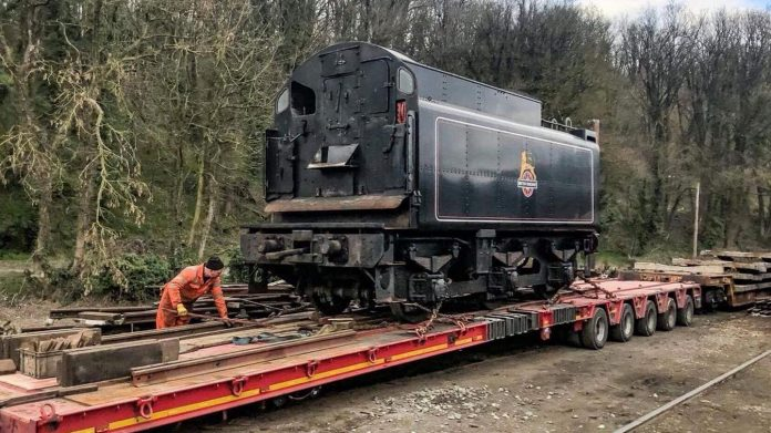 73050's Tender Arriving at the North Yorkshire Moors Railway // Credit Adrain Dennis