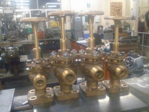 Klinger Valves Completed // Credit GSNLRS