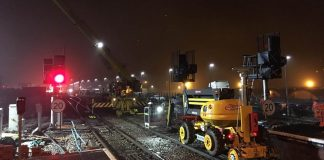 Port Talbot signalling upgrade