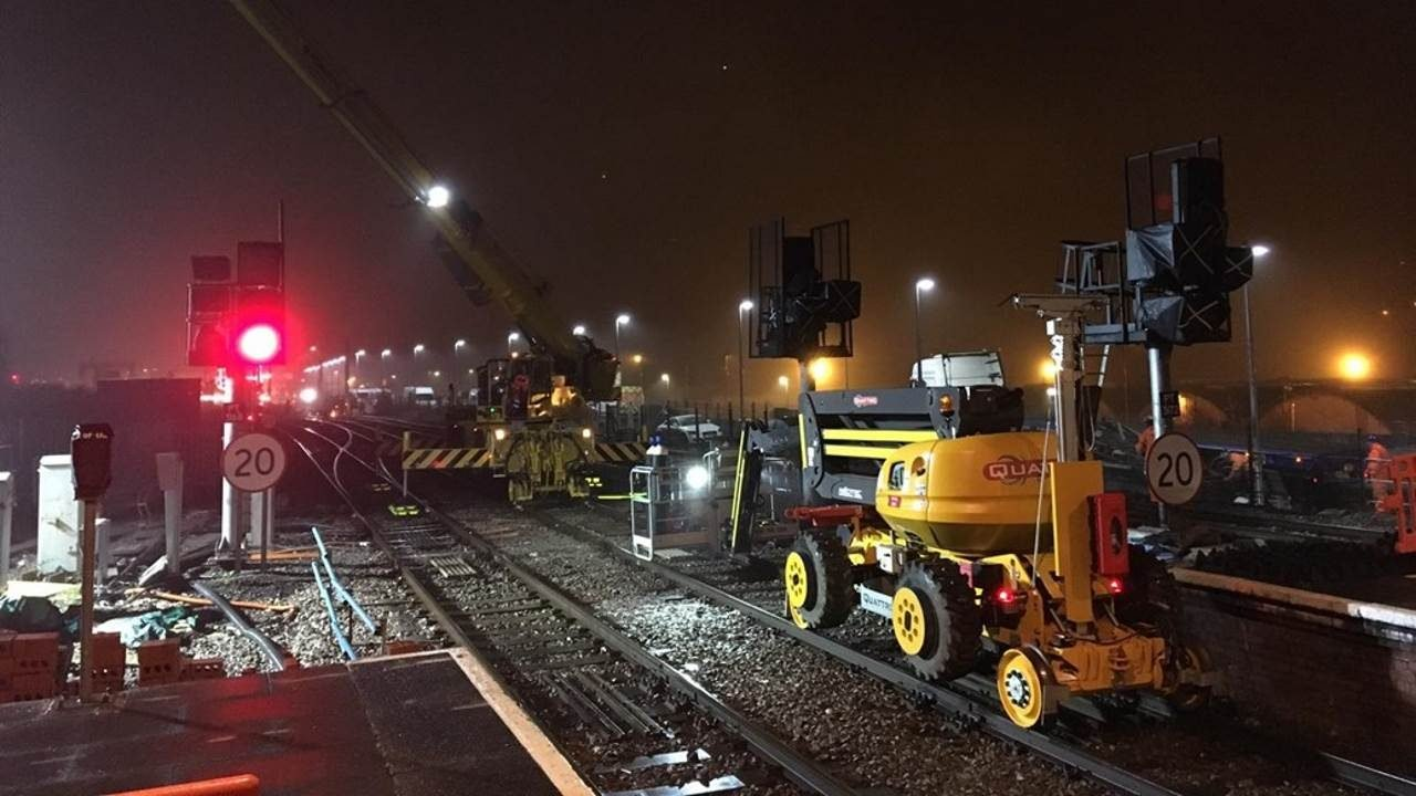 Port Talbot signalling upgrade