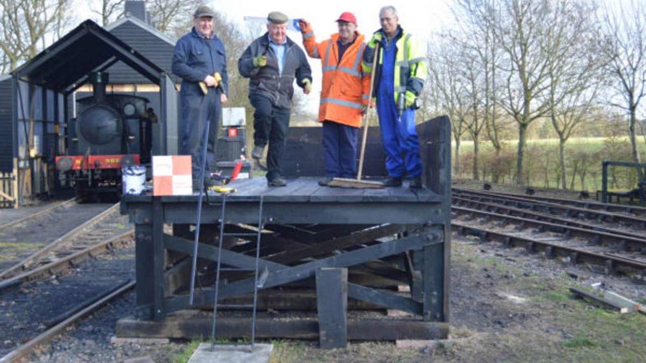 New coaling stage