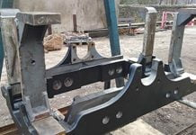 82045 Rear Pony Truck Frame & Guides_
