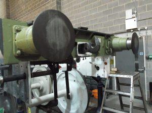 Tender Drawhook Being Lined Up // Credit The Sir Nigel Gresley Locomotive Trust Ltd