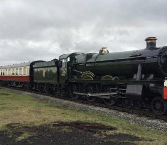 "6989 ""Wightwick Hall"" in March 2019 Credit M Tayler"