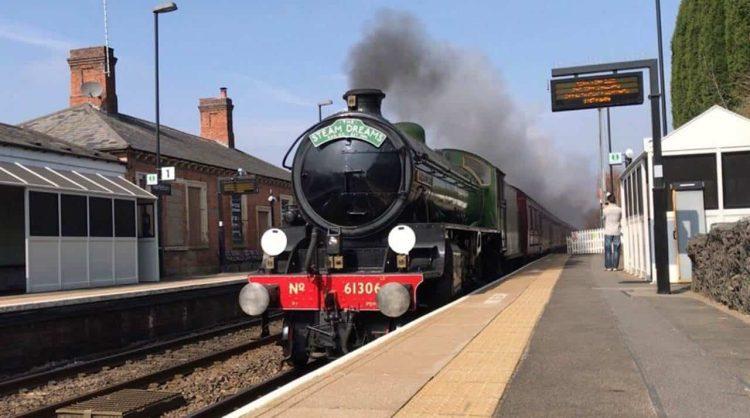 Steam Locomotive 61306 Mayflower