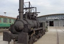 The Hetton Locomotive at Locomotion in Shildon