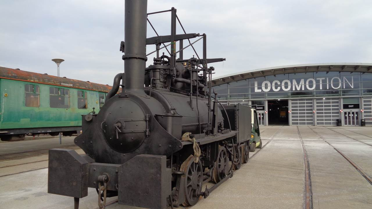 The Hetton Locomotive at Locomotion in Shildon