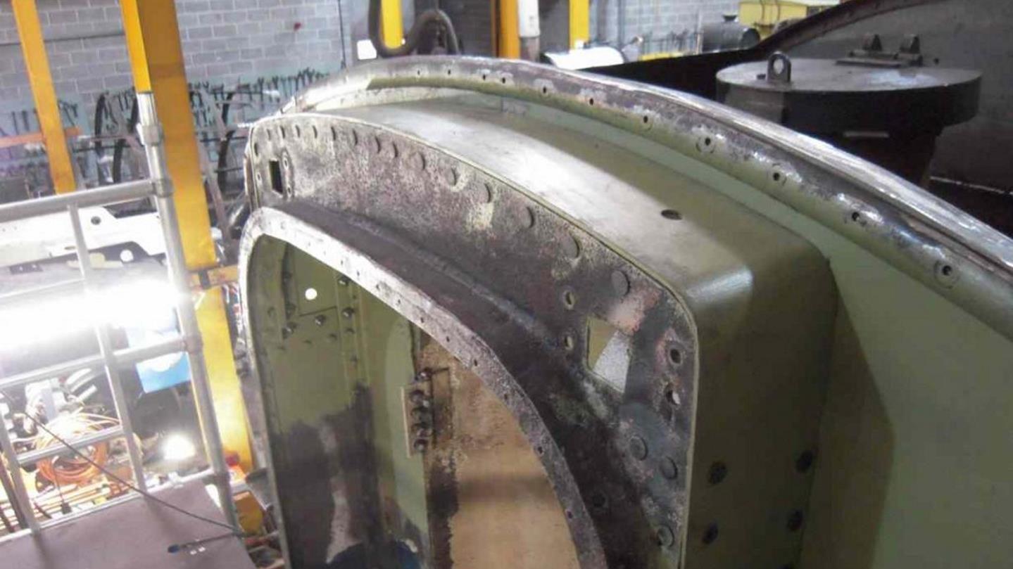 Rebuilt Rear of the Tender // Credit The Sir Nigel Gresley Locomotive Trust Ltd