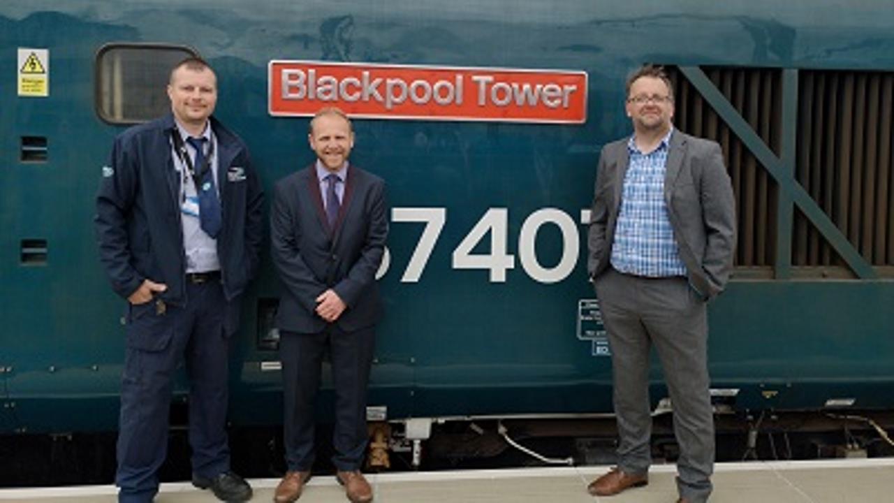 Blackpool Tower Loco