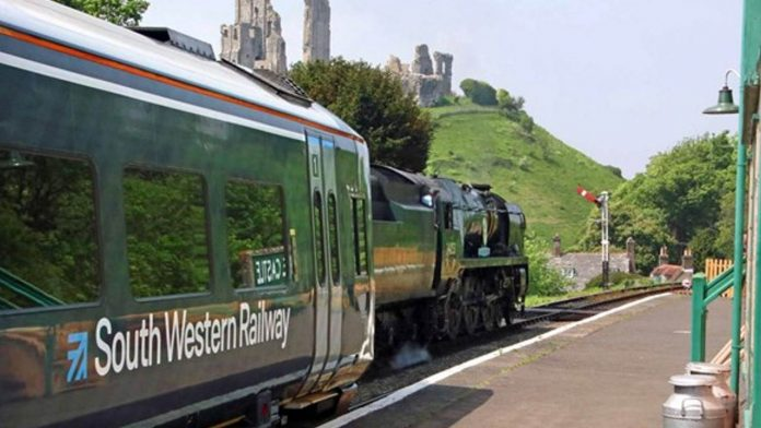 Corfe Castle Train