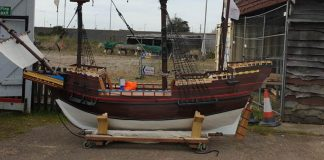 The Mayflower ship