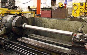 Machining Piston Rod // Credit Tony Massau