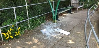 Vandals strike the Polegate Miniature Railway