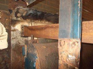 Support Bar near the Front of the Tender's Tank // Credit Sir Nigel Gresley Locomotive Trust Ltd