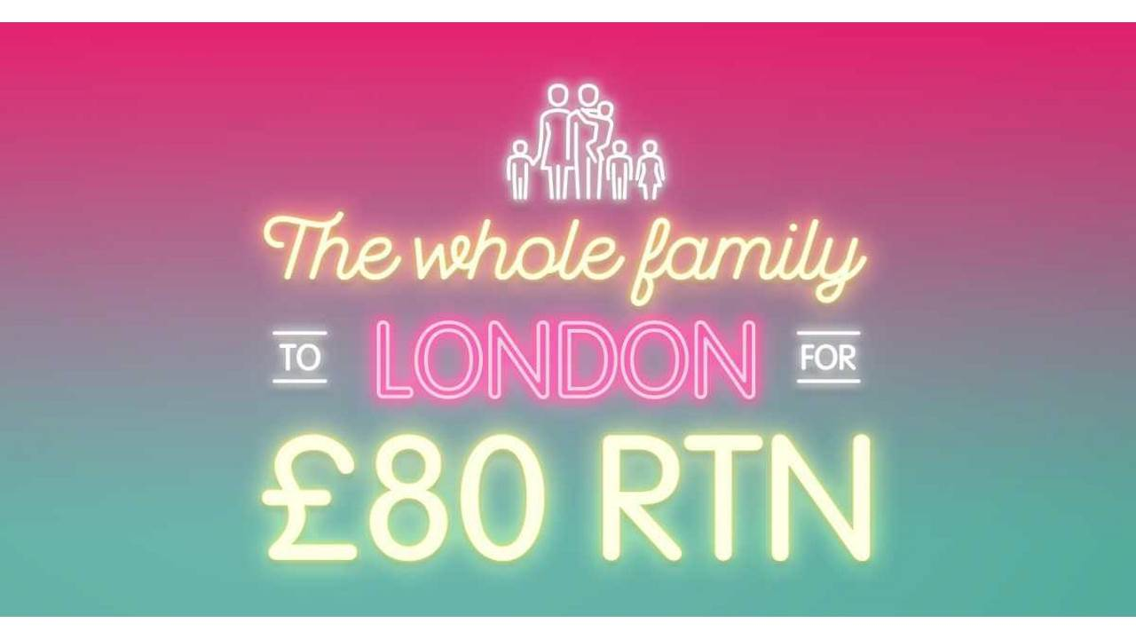 East Midlands Family Ticket