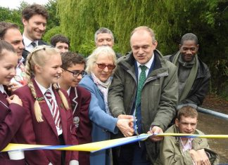 Chessington improvements complete