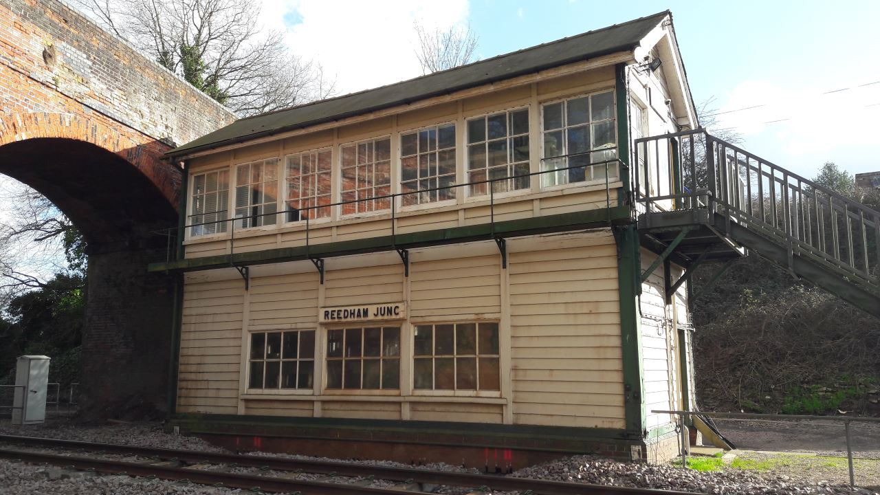 Reedham Junction railway signal box