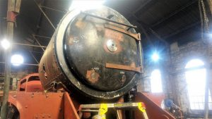 Smokebox with Door Fitted // Credit The Watkinson Trust