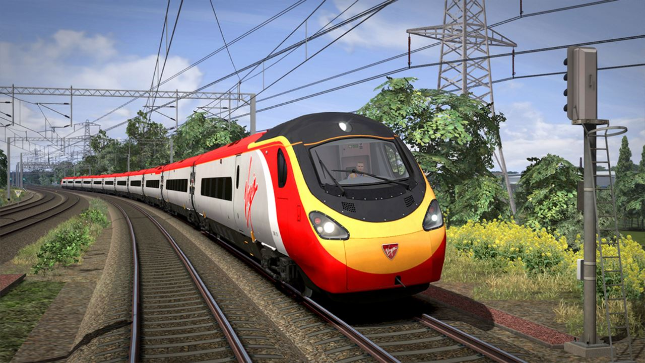 Class 390 Pendolino in Train Simulator