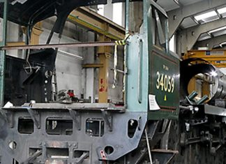 34059's Rolling Chassis // Credit John Fry