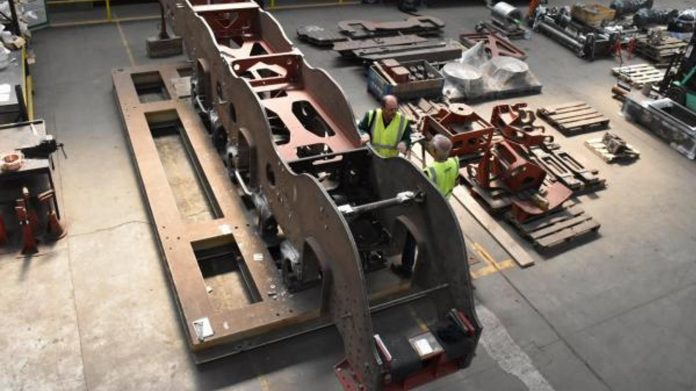 Frame Undergoing Construction // Credit CTL Seal