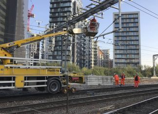 Manchester Victoria electric equipment installation