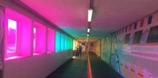 Southampton Central Rainbow Effect