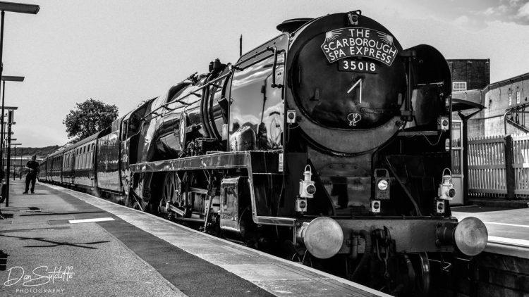 35018 British India Line at Scarborough