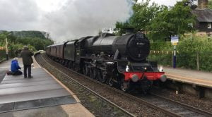 45690 Leander at Grindleford