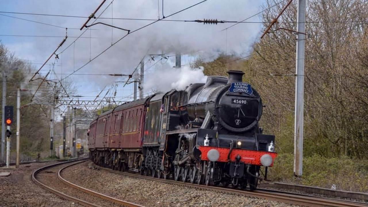 45690 Leander at Lancaster