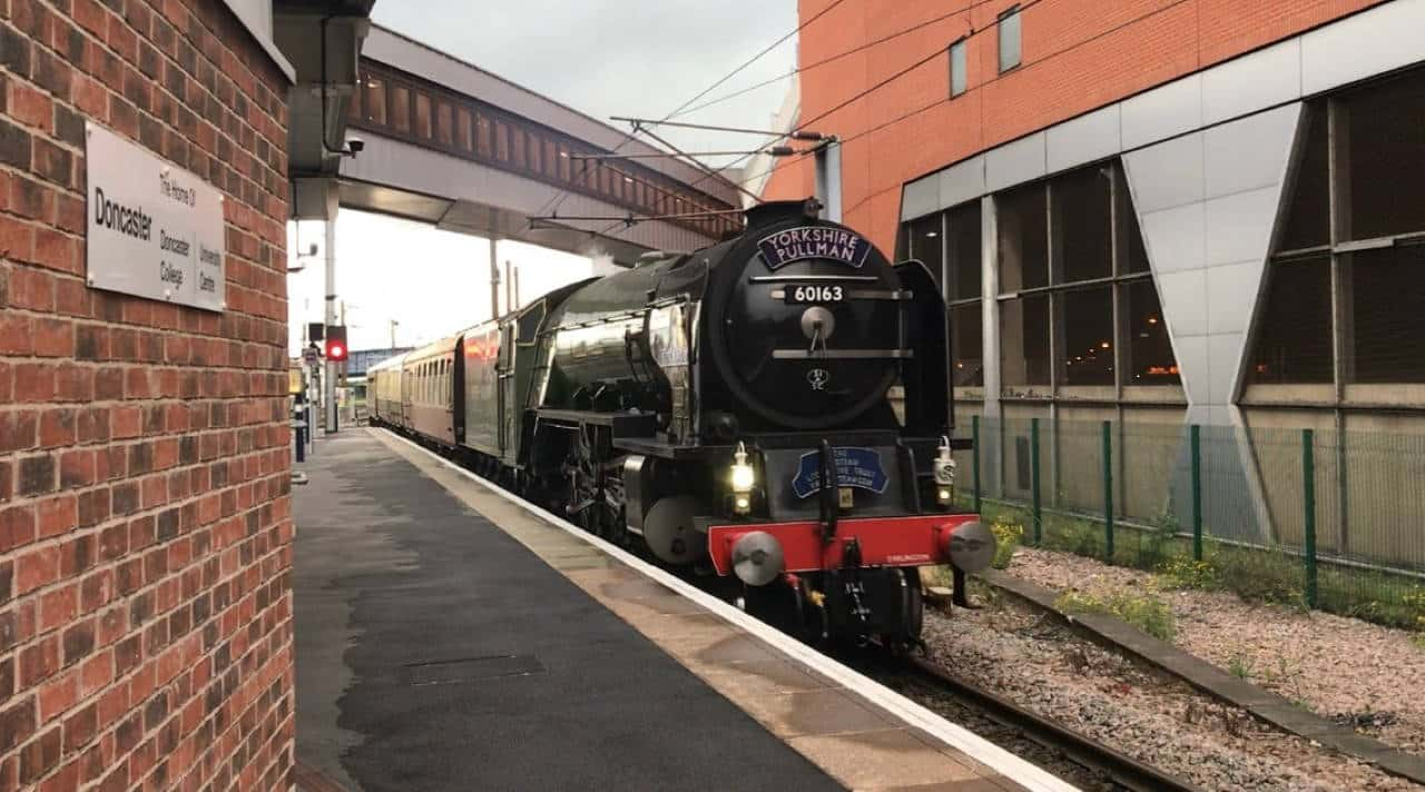 60163 Tornado at Doncaster