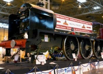 5551 The Unknown Warrior at Warley Model Railway Show
