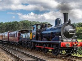 Vintage set on the North Norfolk Railway