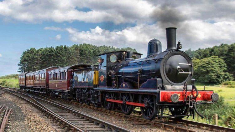 Vintage set on the North Norfolk Railway