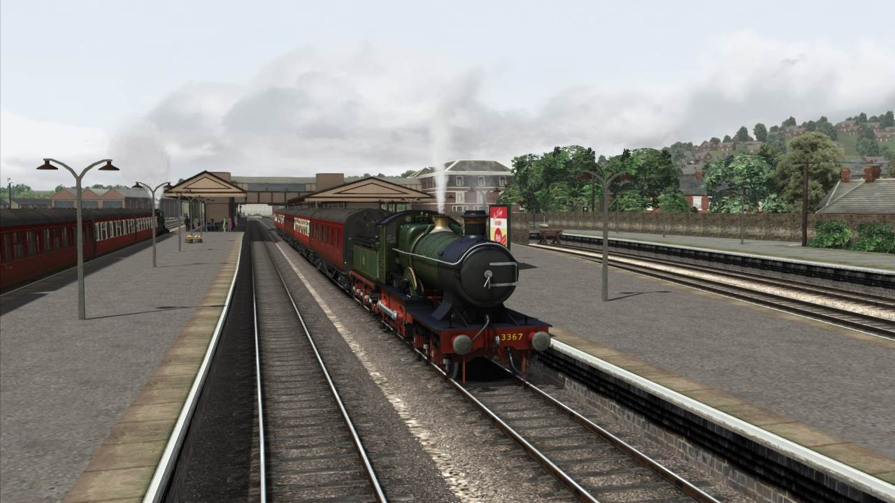 GWR Bulldog in train simulator
