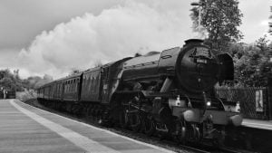 60103 Flying Scotsman through East Garforth