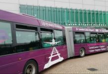 Luton AIrport bus